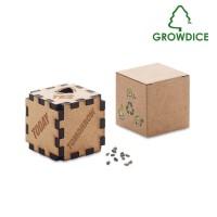 Growdice™ - Holzwürfel Kiefersamen