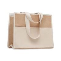 Campo De Geli - Jute-Canvas Shopping Tasche