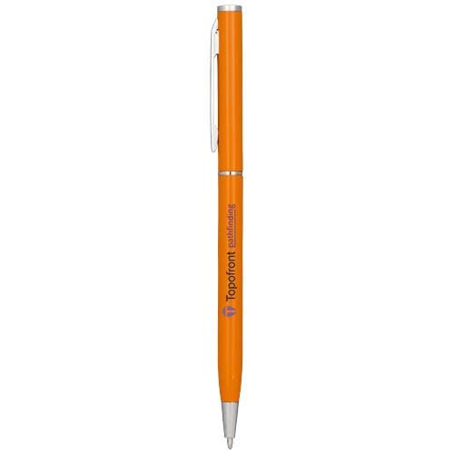 Schlanker Aluminium-Kugelschreiber