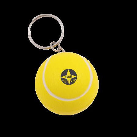 Anti-Stress Tennisball Schlüsselanhänger