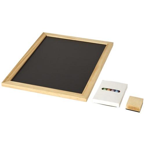 6 teiliges Set Tafel und Kreide