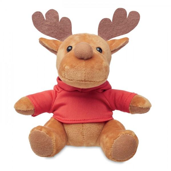Rudolph - Plüsch-Rentier mit Hoody