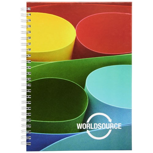 Wiro A5 Notizblock mit Hardcover und Spiralbindung