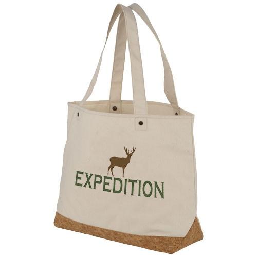 Napa 406 g/m² Baumwolle und Kork Einkaufstasche