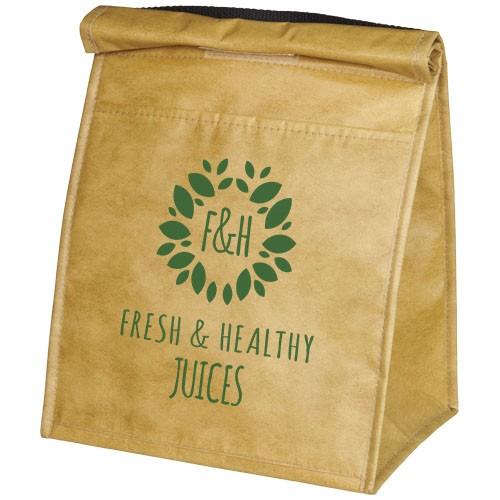 Paper Bag Mittagessen-Kühler für 12 Dosen
