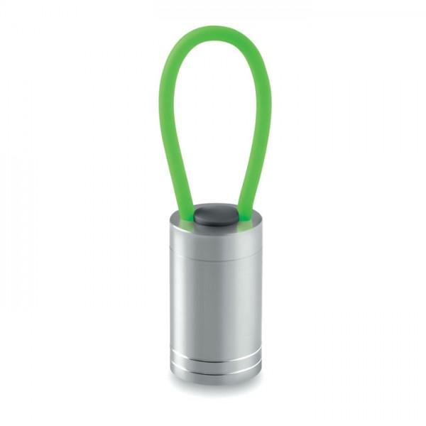 Glow Torch - Aluminium torch glow in dark