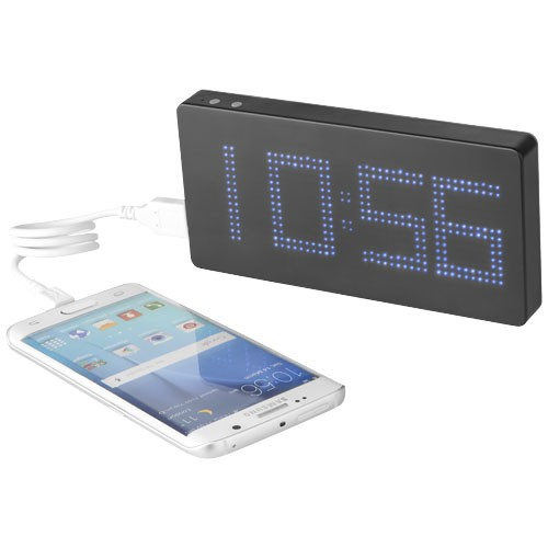 PB 8000 LED Display Powerbank Uhr