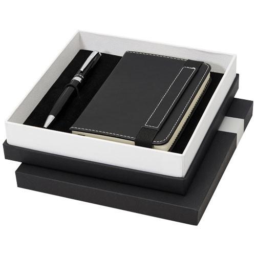 Legatto A6-Notizbuch und Kugelschreiber-Geschenkset