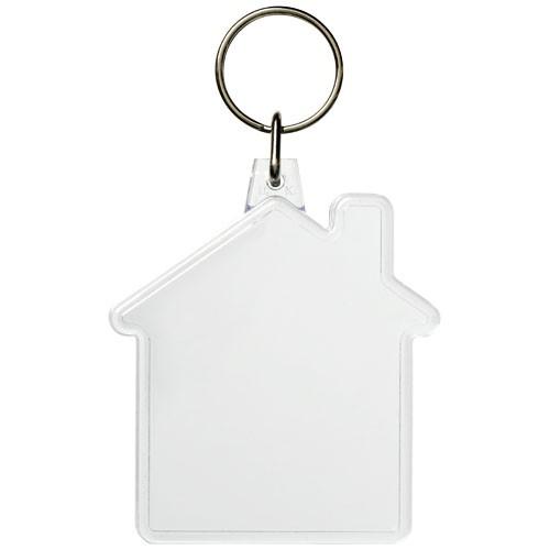 Combo Schlüsselanhänger in Hausform