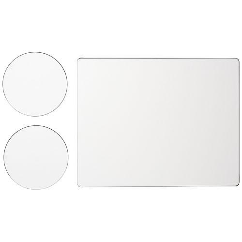 Brite-Mat® Mousepad- und Untersetzer-Set 2