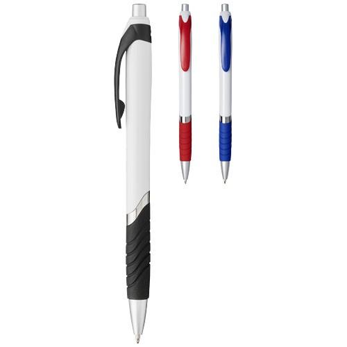 Turbo Kugelschreiber mit Gummigriff