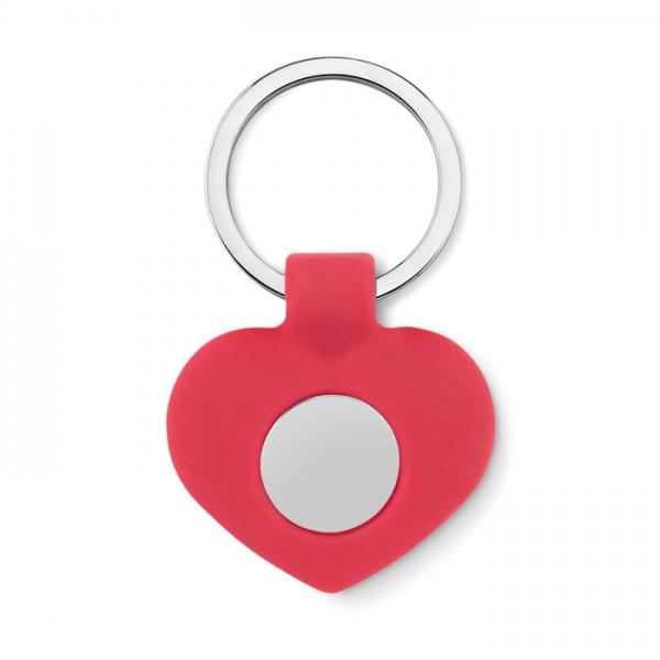 Cuore - Schlüsselring Herzanhänger