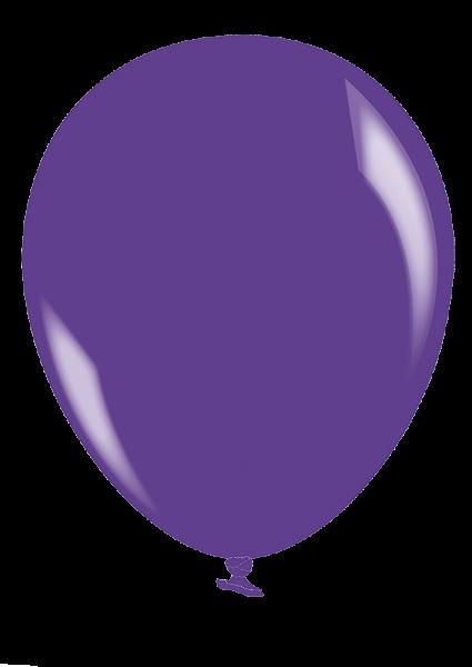 Luftballon Premium transparente Farben