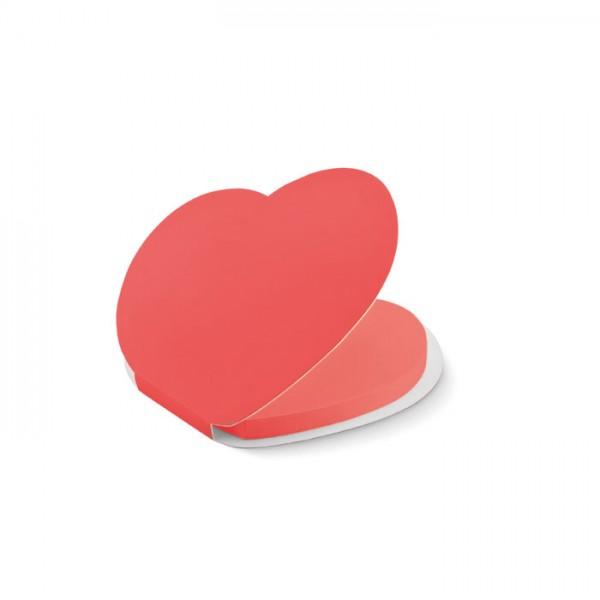 Love - Klebezettel Herz
