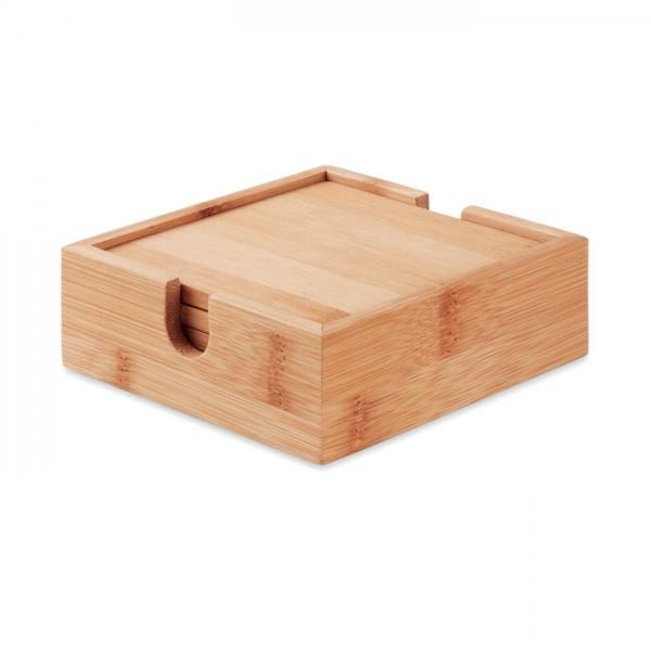 Mendi - Untersetzer-Set Bambus