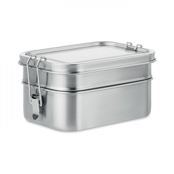 Double Chan - Lunchbox aus Edelstahl