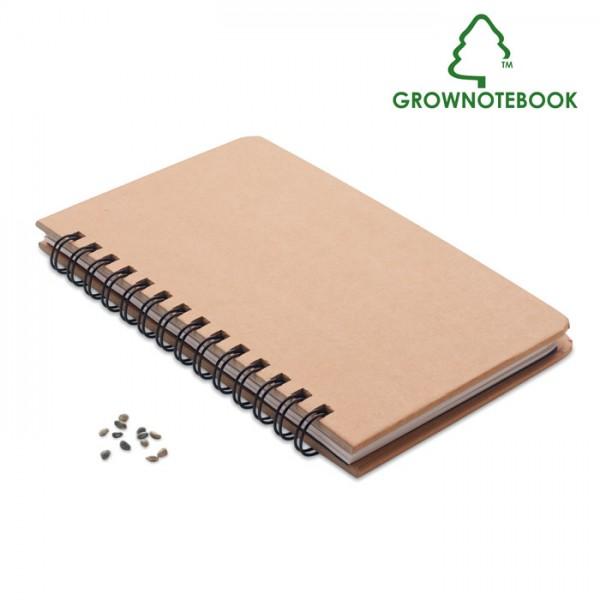 Grownotebook™ - Notizbuch Kiefersamen