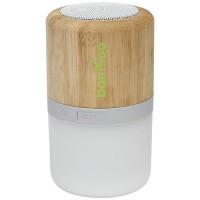 Aurea Bluetooth® Lautsprecher aus Bambus mit Licht