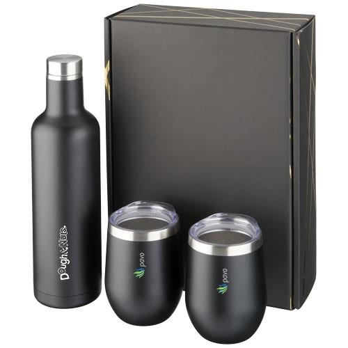 Pinto und Corzo Kupfer-Vakuum isoliertes Geschenkset