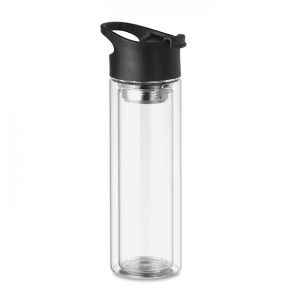 Bielo - Glas Trinkflasche 380ml