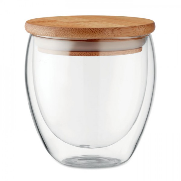 Tirana Small - Doppelwandiges Glas 250 ml
