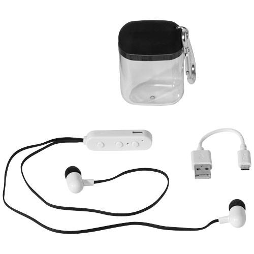 Budget Bluetooth® Ohrhörer Karabiner Etui