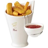 Chase Pommes frites- und Soßenbehälter