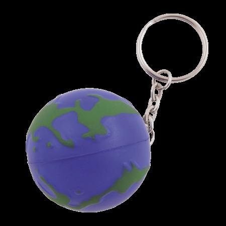 Anti-Stress Globus Schlüsselanhänger