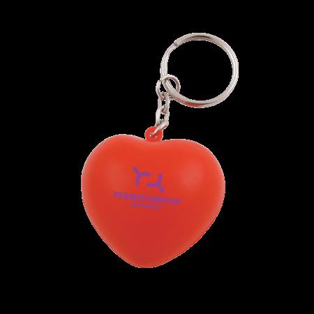Anti-Stress Herz Schlüsselanhänger