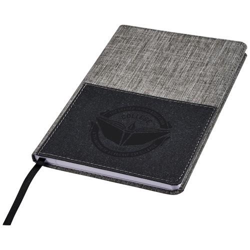 Mera RPET A5 Notizbuch mit Fronttasche