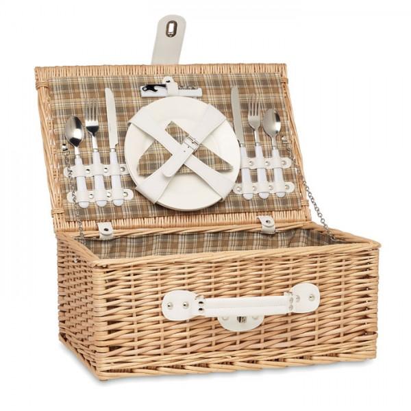 Mimbre - Picknickkorb aus Korbweide