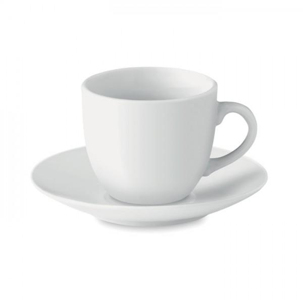 Espresso - Espresso Tasse und Untertasse