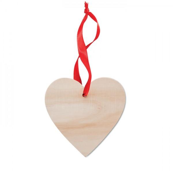Wooheart - Anhänger Herz