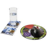 Q-Mat® Mousepad- und Untersetzer-Set Combo 6