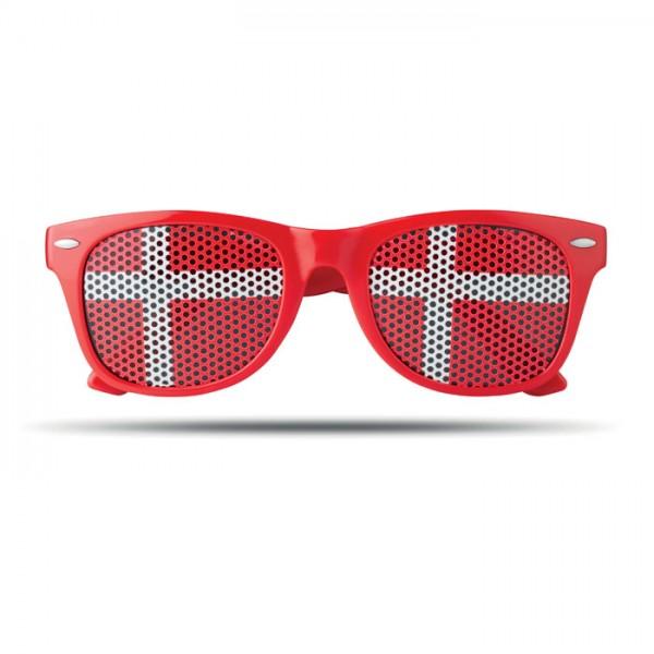 Flag Fun - Fan Sonnenbrille