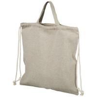 Pheebs Rucksack mit Kordelzug aus recycelter Baumwolle, 150 g/m²