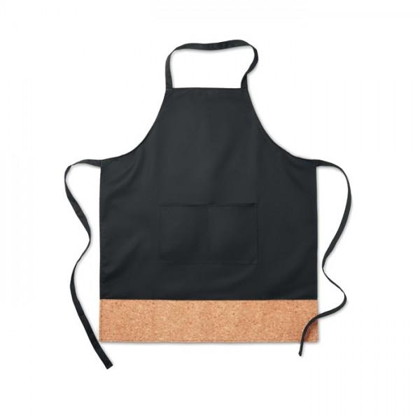 Kitab Cork - Küchenschürze mit Korkbesatz