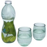 Brisa 3-teiliges Set aus recyceltem Glas