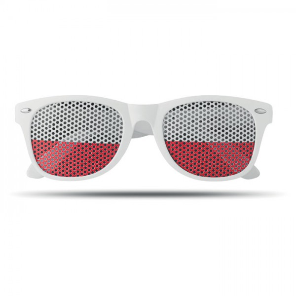 Flag Fun - Fan Sonnenbrille