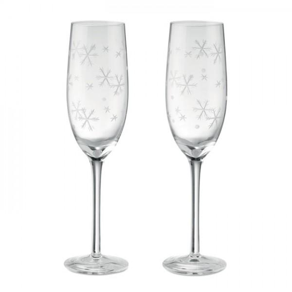 Cheers - Set mit 2 Sektgläsern
