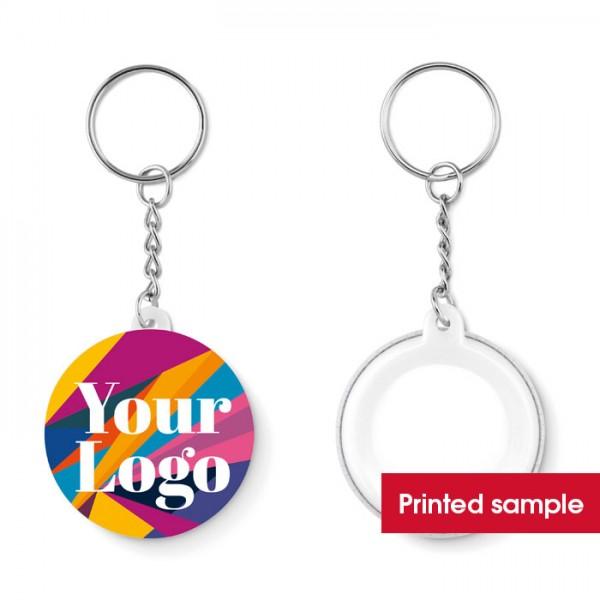 Pin Key - Muster Werbeanbringung