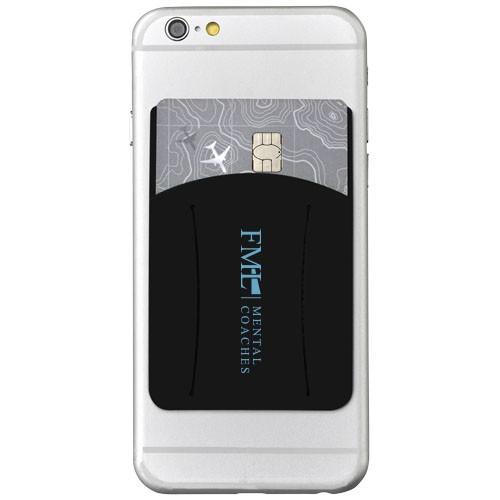 Silikon Telefon Geldbörse Finger Slot