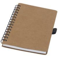 Cobble A6 Notizbuch mit Spiralbindung aus recyceltem Karton mit Steinpapier