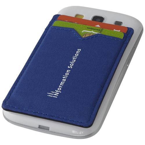 Dual Pocket RFID Telefon Kartenetui
