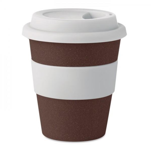 Brazil White - Becher aus Kaffeehülsen 350ml