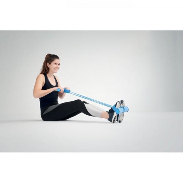 Turmell - Fitness-Tube mit Fußpedal