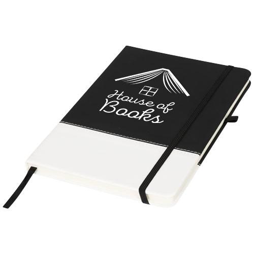 A5-Notizbuch zweifarbigem Farbblock