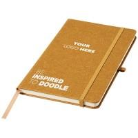 Be Inspired A5 Notizbuch aus Lederresten
