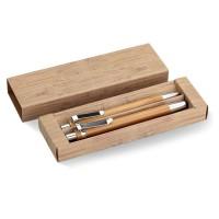 Bambooset - Schreibset aus Bambus