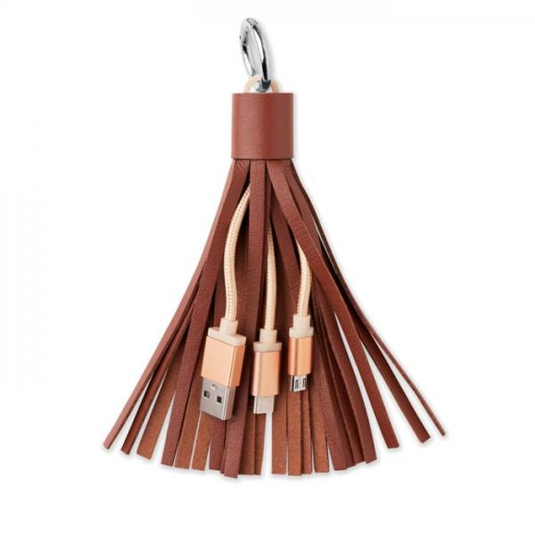 Tassel - Schlüsselring Kabel-Set